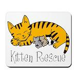 Kitten Rescue Mousepad