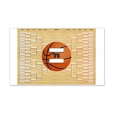 March Madness Brackets Wall Decal