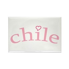 """Chile with Heart"" Rectangle Magnet (100 pack)"