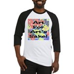 Art For Art's Sake Baseball Jersey