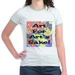 Art For Art's Sake Jr. Ringer T-Shirt