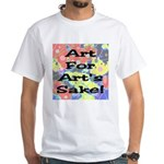 Art For Art's Sake White T-Shirt