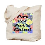 Art For Art's Sake Tote Bag