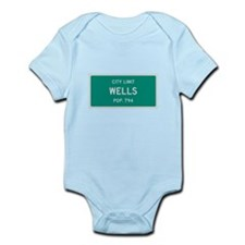 Wells, Texas City Limits Body Suit