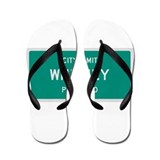 Whitney, Texas City Limits Flip Flops