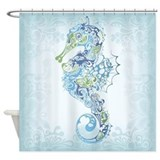 Beautiful Seahorse Shower Curtain