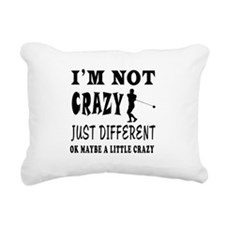 I'm not Crazy just different Hammer Throw Rectangu
