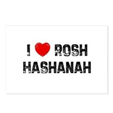 I * Rosh Hashanah Postcards (Package of 8)