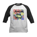 Artist for Hire! First Editio Kids Baseball Jersey