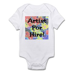 Artist for Hire! First Editio Infant Bodysuit