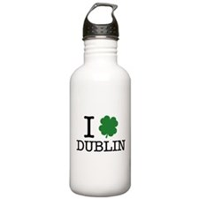 I Shamrock Dublin Water Bottle