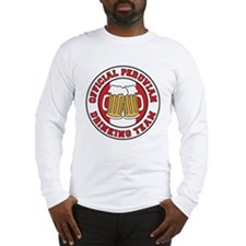 Official Peruvian Drinking Team Long Sleeve T-Shir