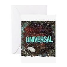 universal art illustration Greeting Card
