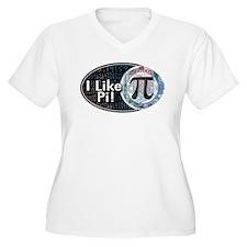 I Like Pi Oval T-Shirt