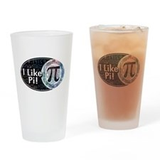 I Like Pi Oval Drinking Glass