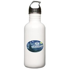 Pi in the Sky Oval Sports Water Bottle