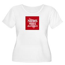 Plagiarism Phrase 1 Plus Size T-Shirt