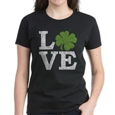 LOVE with a shamrock T-Shirt