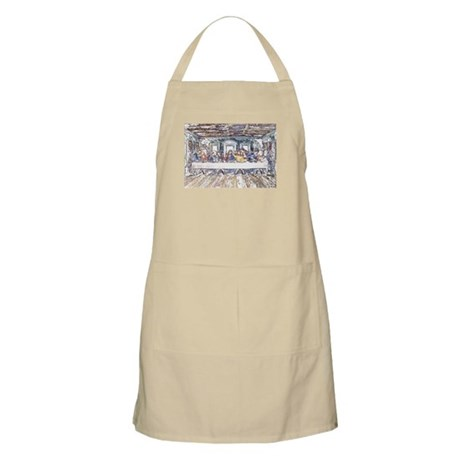 Last Supper BBQ Apron