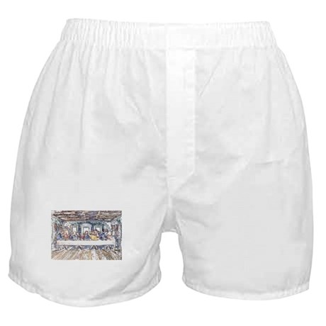 Last Supper Boxer Shorts