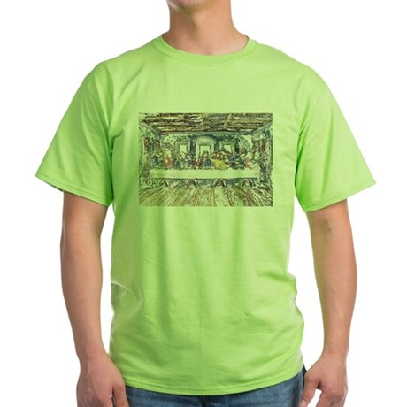 Last Supper Green T-Shirt