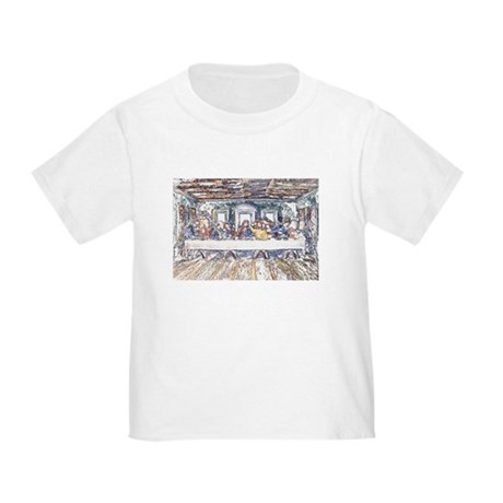 Last Supper Toddler T-Shirt