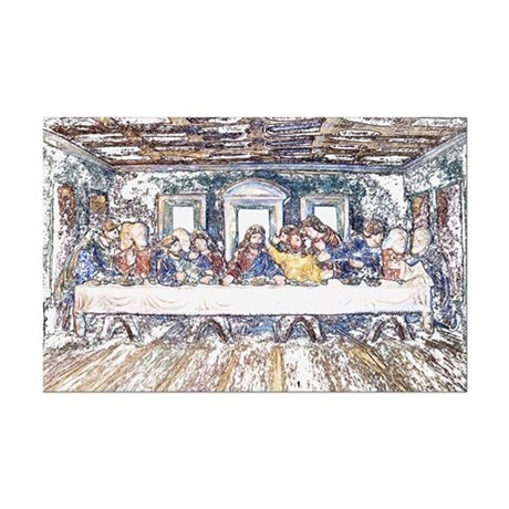 Last Supper Mini Poster Print