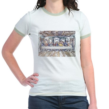 Last Supper Jr. Ringer T-Shirt