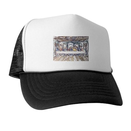 Last Supper Trucker Hat