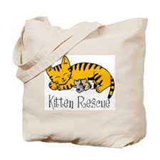 Kitten Rescue Tote Bag