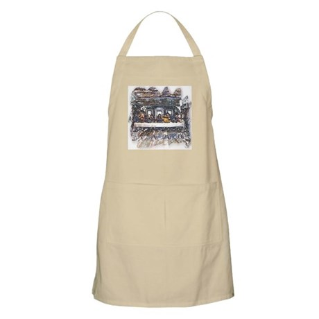 Lord's Last Supper BBQ Apron