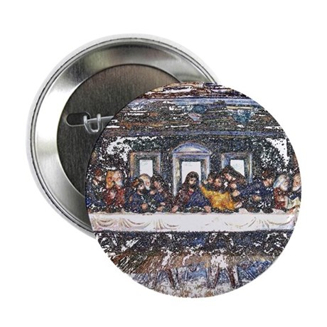 "Lord's Last Supper 2.25"" Button (10 pack)"
