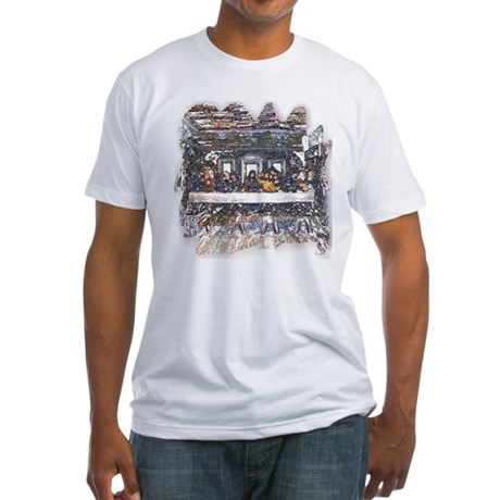 Lord's Last Supper Fitted T-Shirt