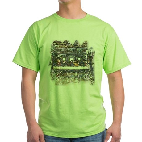 Lord's Last Supper Green T-Shirt