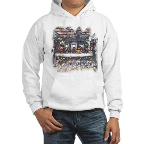 Lord's Last Supper Hooded Sweatshirt