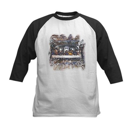 Lord's Last Supper Kids Baseball Jersey