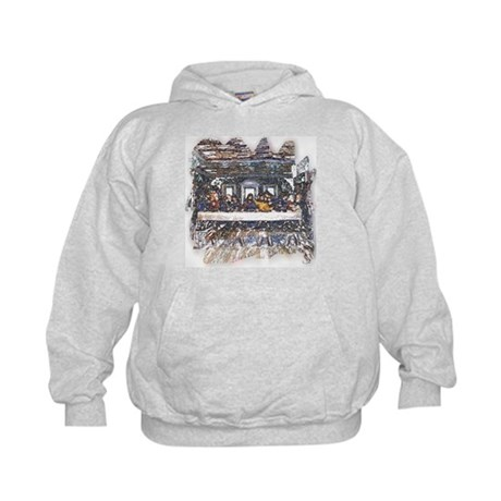 Lord's Last Supper Kids Hoodie