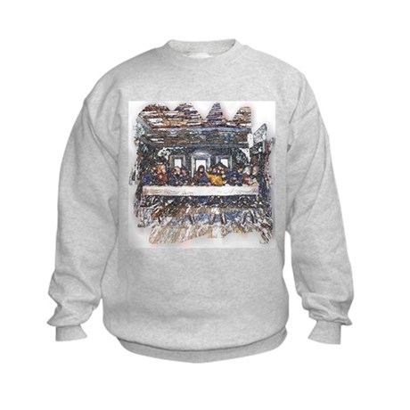 Lord's Last Supper Kids Sweatshirt