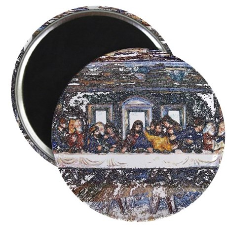 "Lord's Last Supper 2.25"" Magnet (10 pack)"