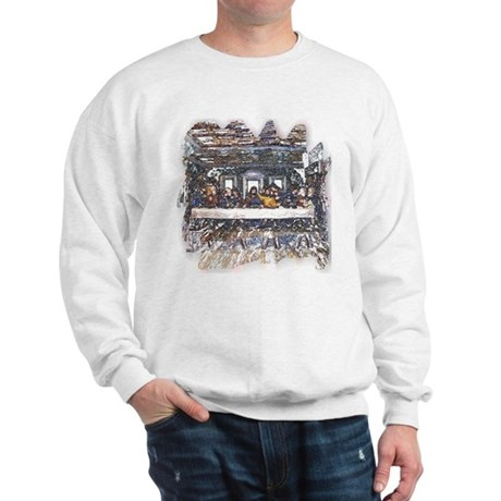 Lord's Last Supper Sweatshirt