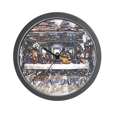 Lord's Last Supper Wall Clock