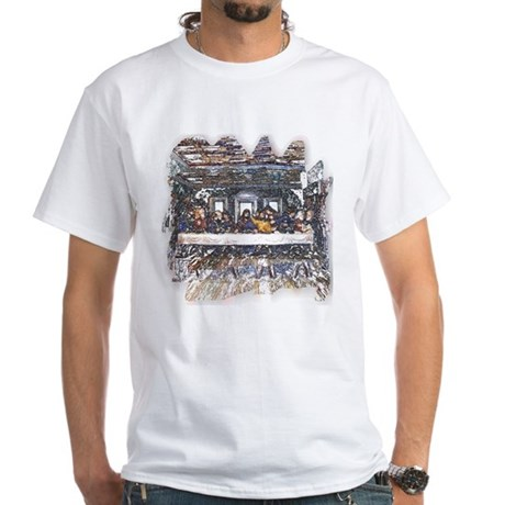 Lord's Last Supper White T-Shirt