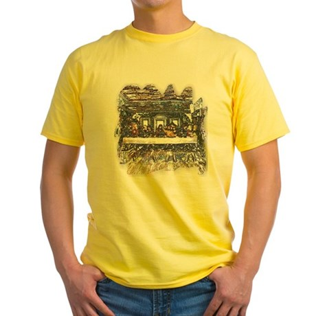 Lord's Last Supper Yellow T-Shirt