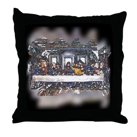 Lord's Last Supper Throw Pillow