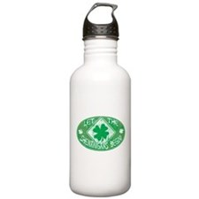 Shenanigans Begin Green Water Bottle