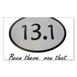 Been There 13.1 Decal