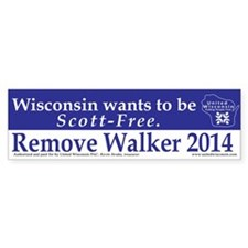 Scott-Free Bumper Bumper Sticker