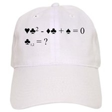 Bridge quadratic equation Baseball Baseball Cap