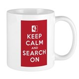 Keep Calm and Search On (High Angle Teams) Coffee Mug