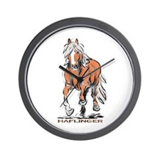 Haflinger Wall Clock